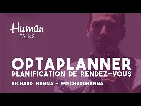 Planification de rendez-vous avec Optaplanner par Richard Hanna