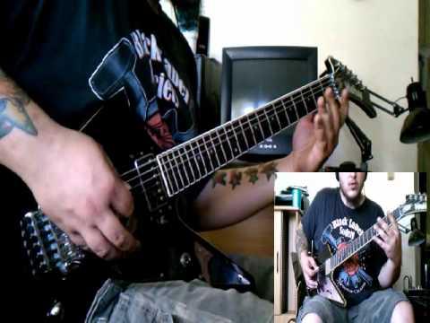 Damageplan - Crawl guitar cover - by ( Kenny Giron ) kG