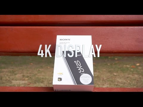 Sony Xperia Z5 Premium(Dual) Unboxing & First Impressions/4k Display Explained.