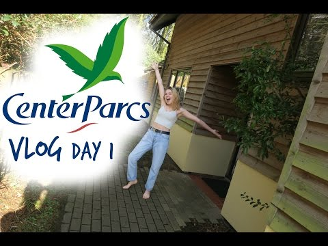 CENTER PARCS LONGLEAT VLOG | Day 1