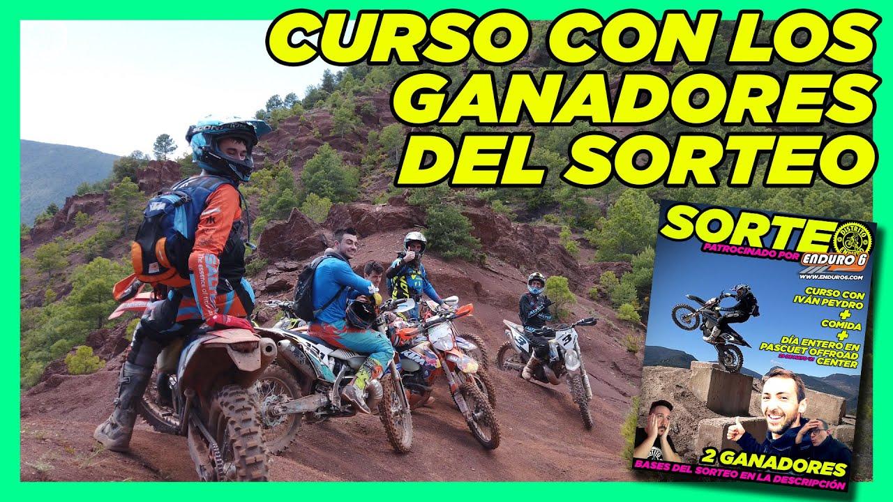 Curso con los ganadores del sorteo | Iván Peydro & Pascuet Offroad | Distrito Enduro