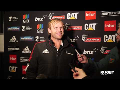 Super Rugby 2019 Round 17: Crusaders press conference