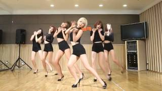 dance practice aoa like a cat mirror ver