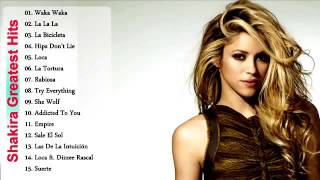 Shakira greatest hits album 2017 // shakira songs collection (cover of me)