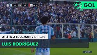 Luis Rodríguez (2-0) Atlético Tucumán vs Tigre | Fecha 5 - Superliga Argentina 2018/2019