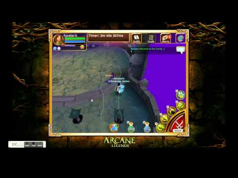 Arcane Legends Ilu Solo Shuyal Gladiator Arena