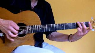 Improvisation on acoustic Guitar with Am - Dm - G (Matthias Waßer)