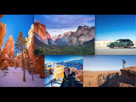 Top Southwest USA travel destinations - (4k)