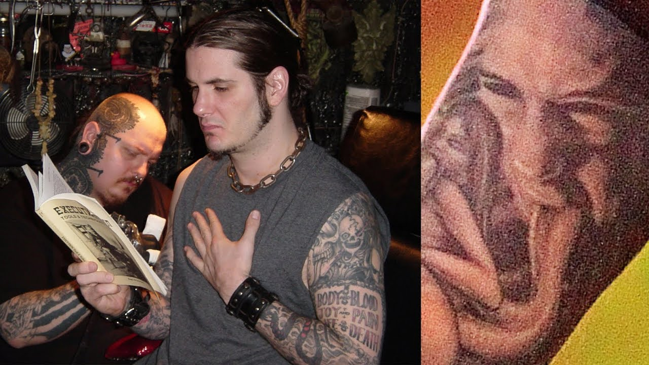 417de6993 Pantera: Philip Anselmo's X-Rated, Ex-Wife Tattoo | Paul Booth's ...
