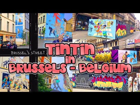 TINTIN COLLECTORS, HERE YOU GO‼️ EXPLORING BRUSSELS FOR THE LEGEND ❗️