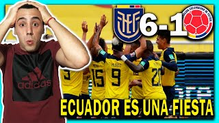 🇦🇷😱 ARGENTINO ELOGIA a 🇪🇨 ECUADOR vs COLOMBIA 🇨🇴 ELIMINATORIAS SUDAMERICANAS QATAR 2022 🏆