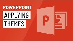 PowerPoint: Applying Themes