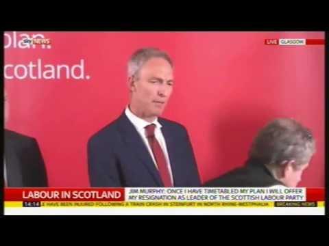 Jim Murphy resignation speech, 16th May 2015