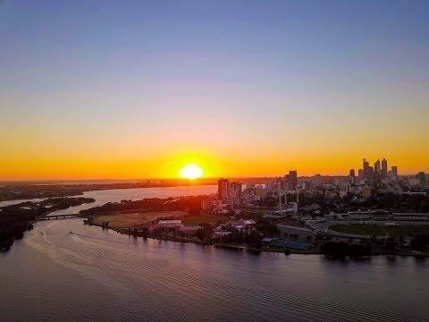 Sunset at Perth | Crown | Optus Stadium | West Perth| Vlog #003