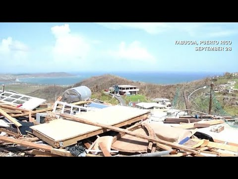 Thousands desperate for aid in Puerto Rico