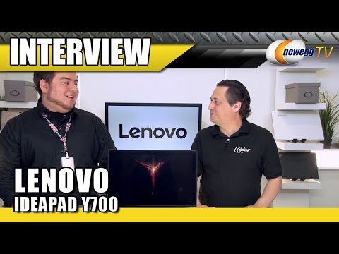 lenovo-y700-gaming-laptop-interview---newegg-tv