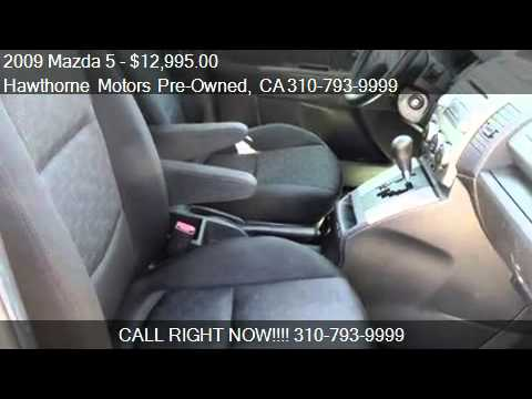 2009 Mazda 5 Sport Hatchback For Sale In Lawndale Ca