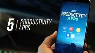 5 Best Android Apps to increase Productivity (2017)