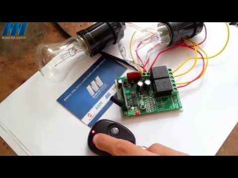 Demo RF Điều Khiển Đèn Điện 220V Với 3 Chế Độ -  http://banlinhkien.vn/