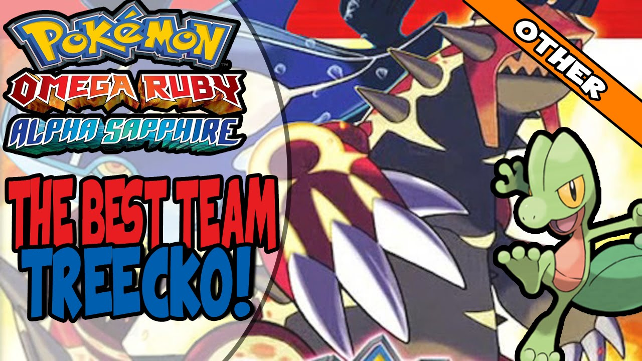 best alpha sapphire team with treecko
