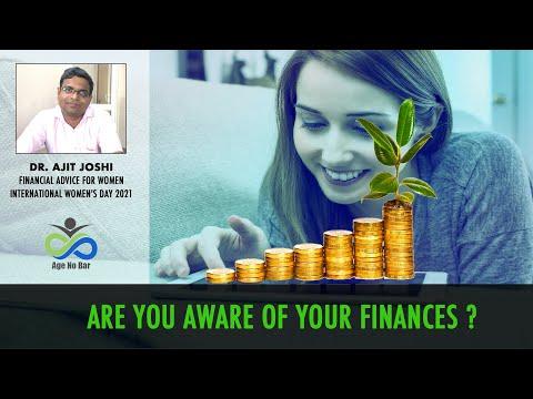 Guest Talk - Dr. Ajit Joshi | Financial Advice For Women | International Women's Day 2021