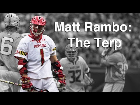Matt Rambo: The Terp (College Lacrosse Documentary)