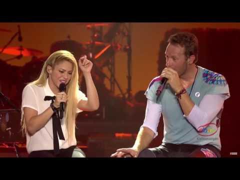 Shakira - Chantaje ft.  Chris Martin  - HD