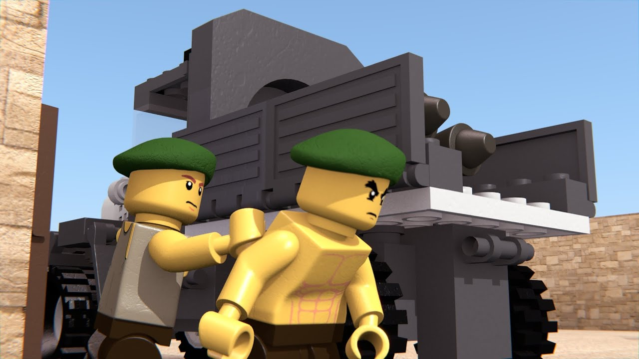 LEGO PRISONERS OF WAR #1