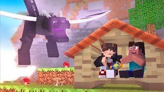 Minecraft: DESAFIO DA BASE 100% SEGURA CONTRA ENDER DRAGON ‹ JUAUM ›