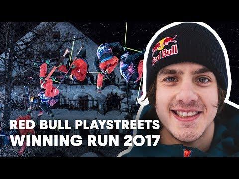 Jesper Tjäder Stomps Winning Run at Red Bull Playstreets 2017