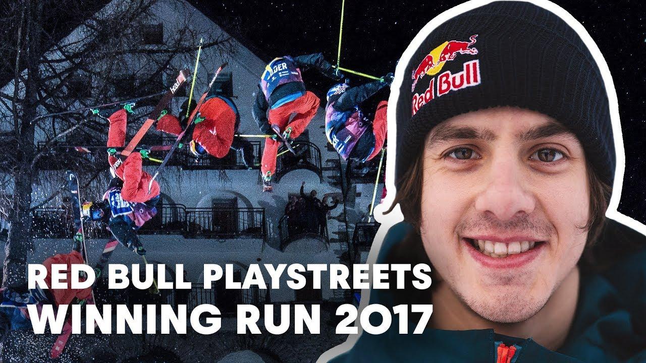 Jesper Tjäder's Winning Run at Red Bull Playstreets 2017