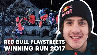 Jesper Tjäder Stomps Winning Run at Red Bull Playstreets 2017