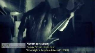 Novembers Doom - A Eulogy For the Living Lost (Spanish Subtitles)