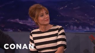"Sasha Alexander's Husband Watches ""Game Of Thrones"" For The Boobs  - CONAN on TBS"