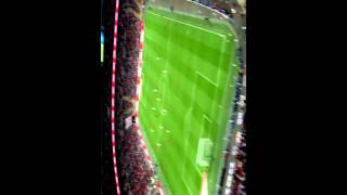 best PAPER AIRPLANE launched from TOP of stadium hits player! LMAO England vs Peru RAW FOOTAGE