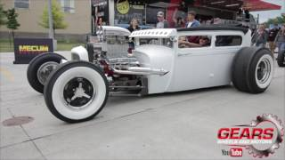 1929 Model A Blown , Bagged and Chopped Hot Rod , Rat Rod /Gears Wheels and Motors