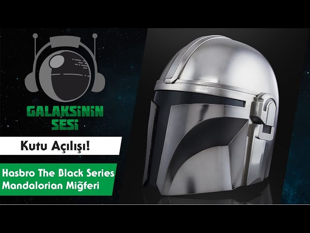 Unboxing & Review : Hasbro Star Wars The Black Series The Mandalorian Helmet