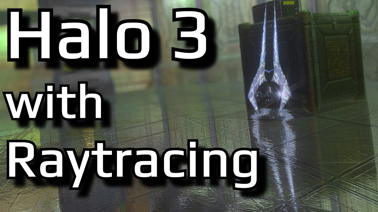 Enhancing the graphics of Halo 3 with Raytracing Reshade | Modding MCC's graphics