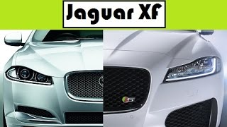 Jaguar XF, old vs new update models from generation to generation
