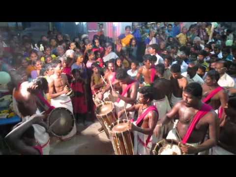 mamsapuram panguni pongal chentta melam in karuvalam