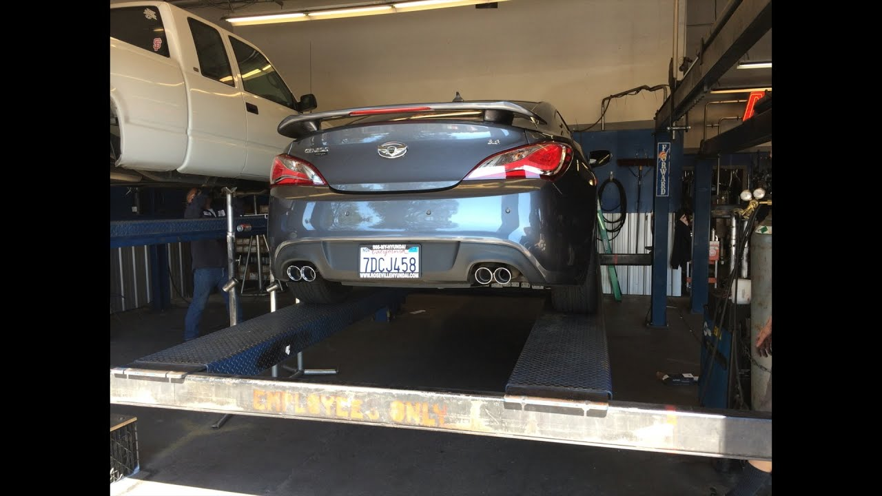 small resolution of 2013 hyundai genesis coupe 3 8 magnaflow exhaust 1080p