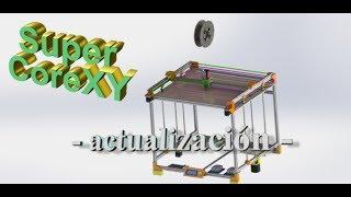 Proyecto - Super CoreXY - Actualización Extrusor Directo