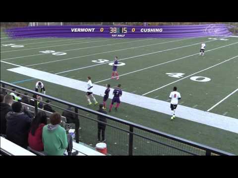 Cushing Academy -Varsity Boys Soccer vs. Vermont Academy