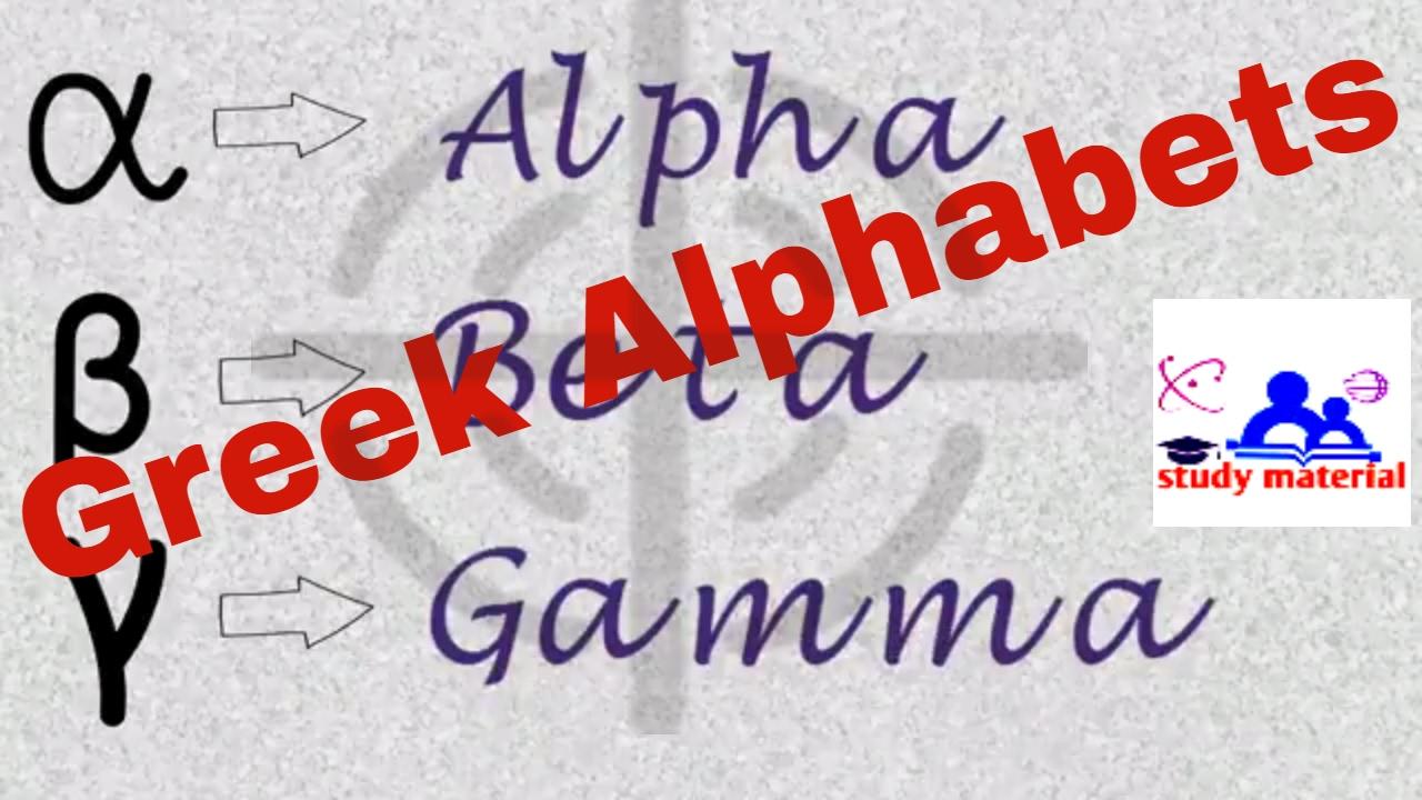 Greek Alphabets Symbols With Name Youtube