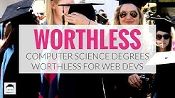 Computer Science Degrees Are Worthless For Web Developers