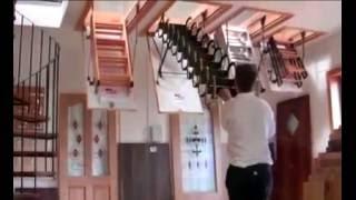 Чердачные лестницы различных типов(Чердачные лестницы купить с доставкой по Украине. Оформление заказ и более детальная информация о лестница..., 2013-01-15T16:44:06.000Z)