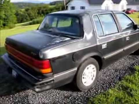 Our 1993 Dodge Spirit same car as a Plymouth Acclaim. For Sale as ...