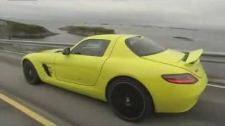 Mercedes Benz SLS AMG E-CELL 2011 Videos