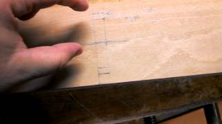 Making A Double Iron Beech Try Plane - Part 3 : Finishing The Layout