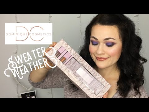SWEATER WEATHER! | New Dominique Cosmetics Sweater Weather Collection! thumbnail